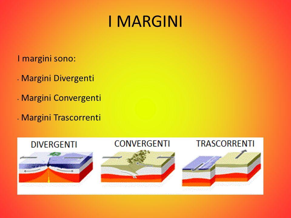 I MARGINI I margini sono: Margini Divergenti Margini Convergenti