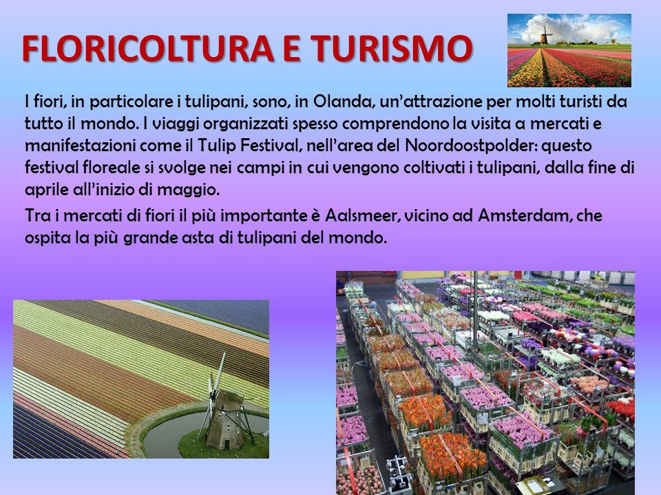 FLORICOLTURA E TURISMO