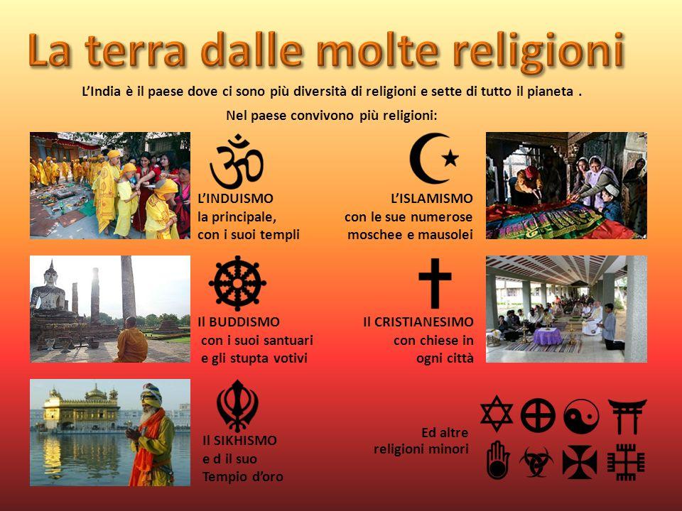Nel paese convivono più religioni: