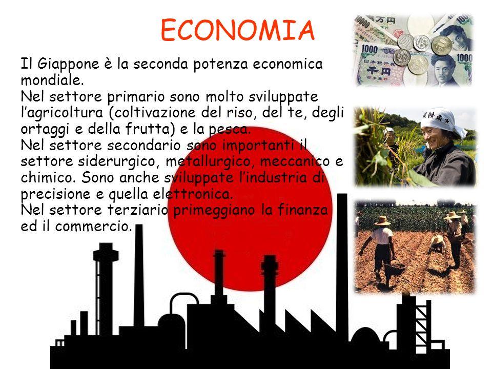 ECONOMIA Il Giappone è la seconda potenza economica mondiale.