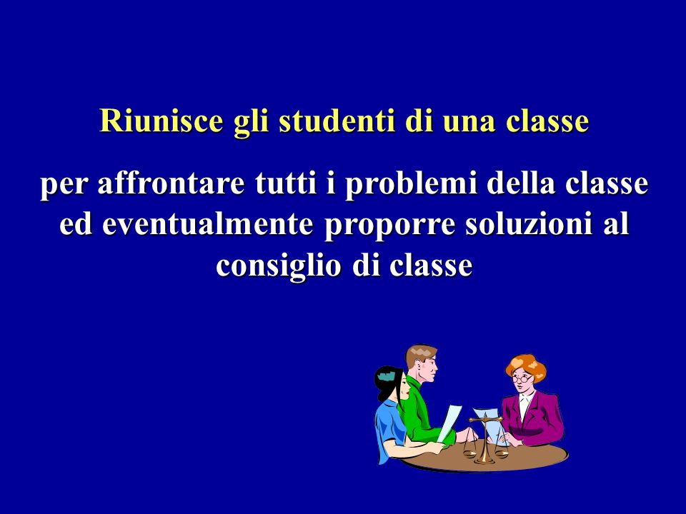 Riunisce gli studenti di una classe