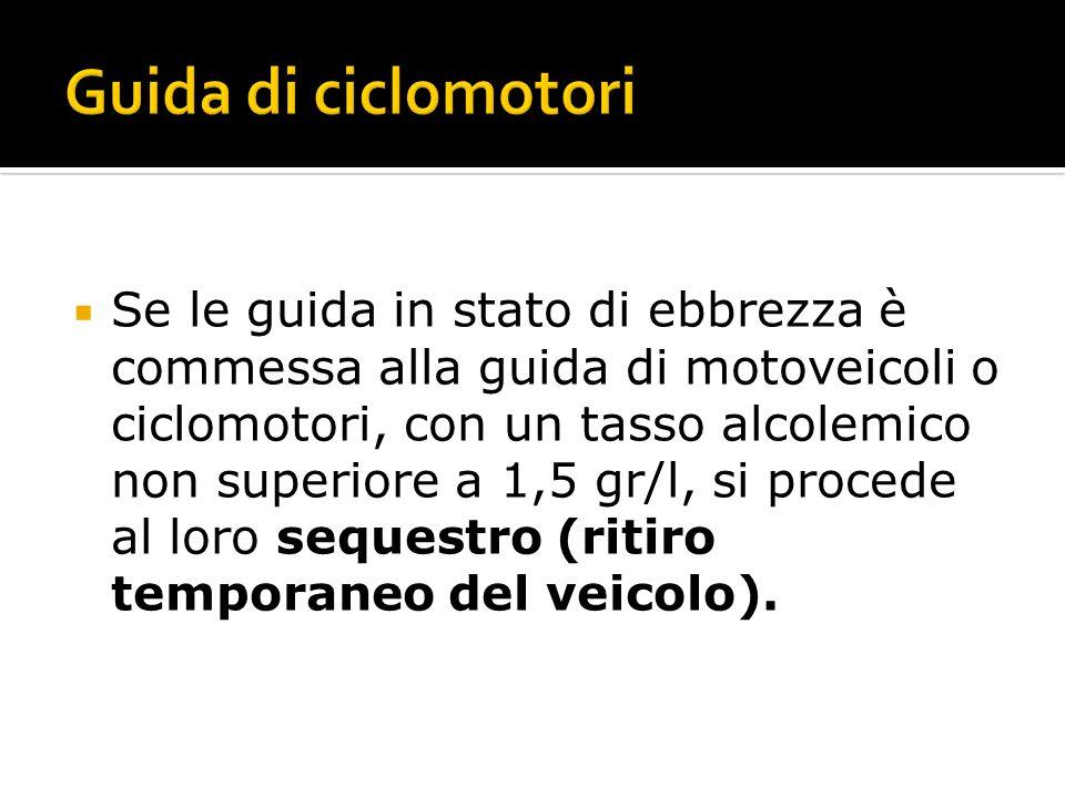 Guida di ciclomotori