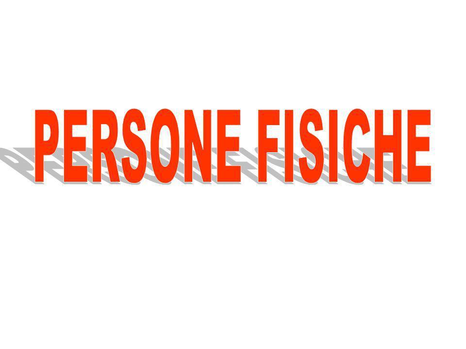 PERSONE FISICHE