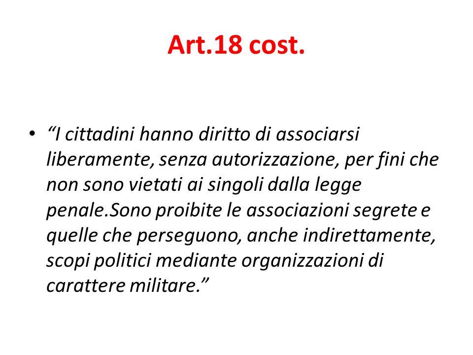 Art.18 cost.
