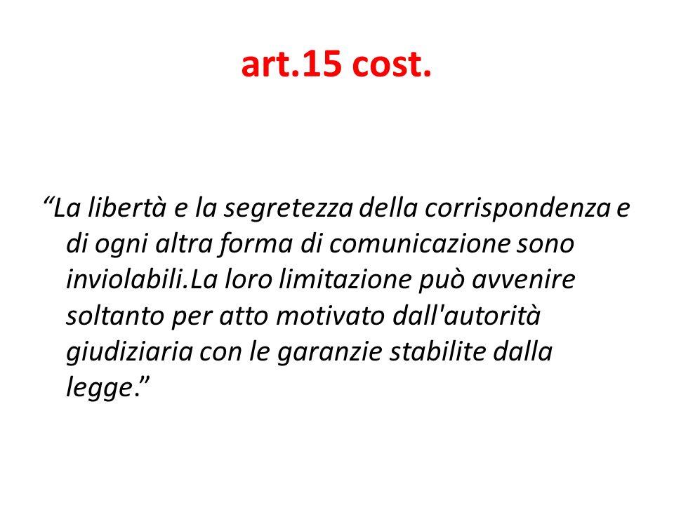 art.15 cost.