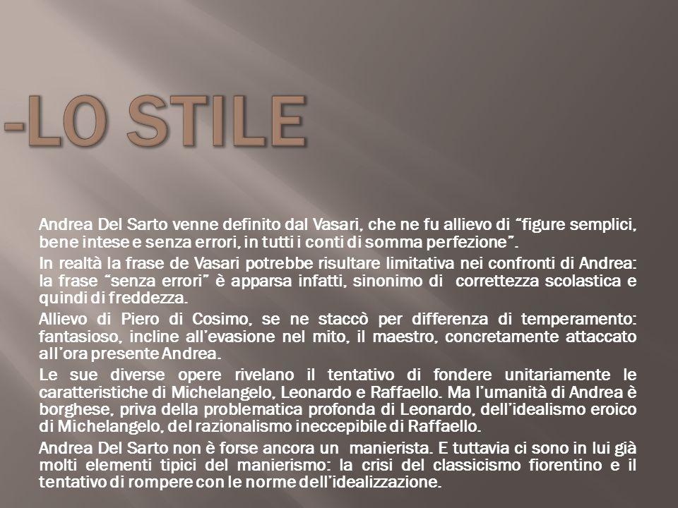 -LO STILE