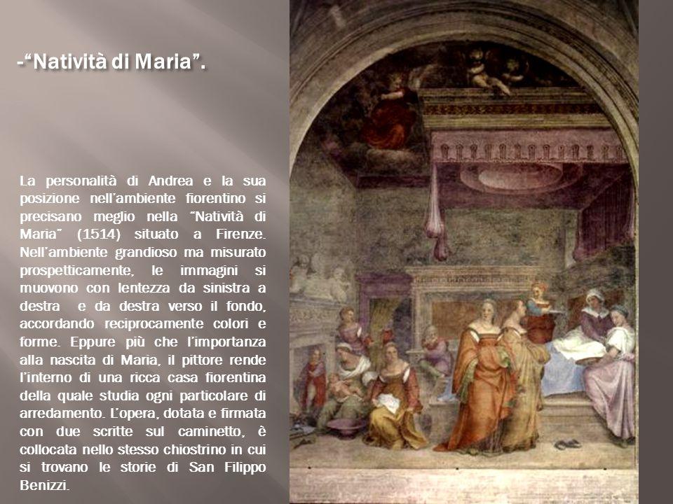 - Natività di Maria .