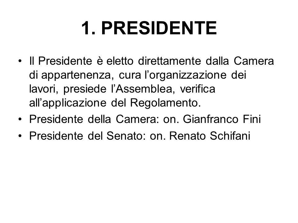 1. PRESIDENTE