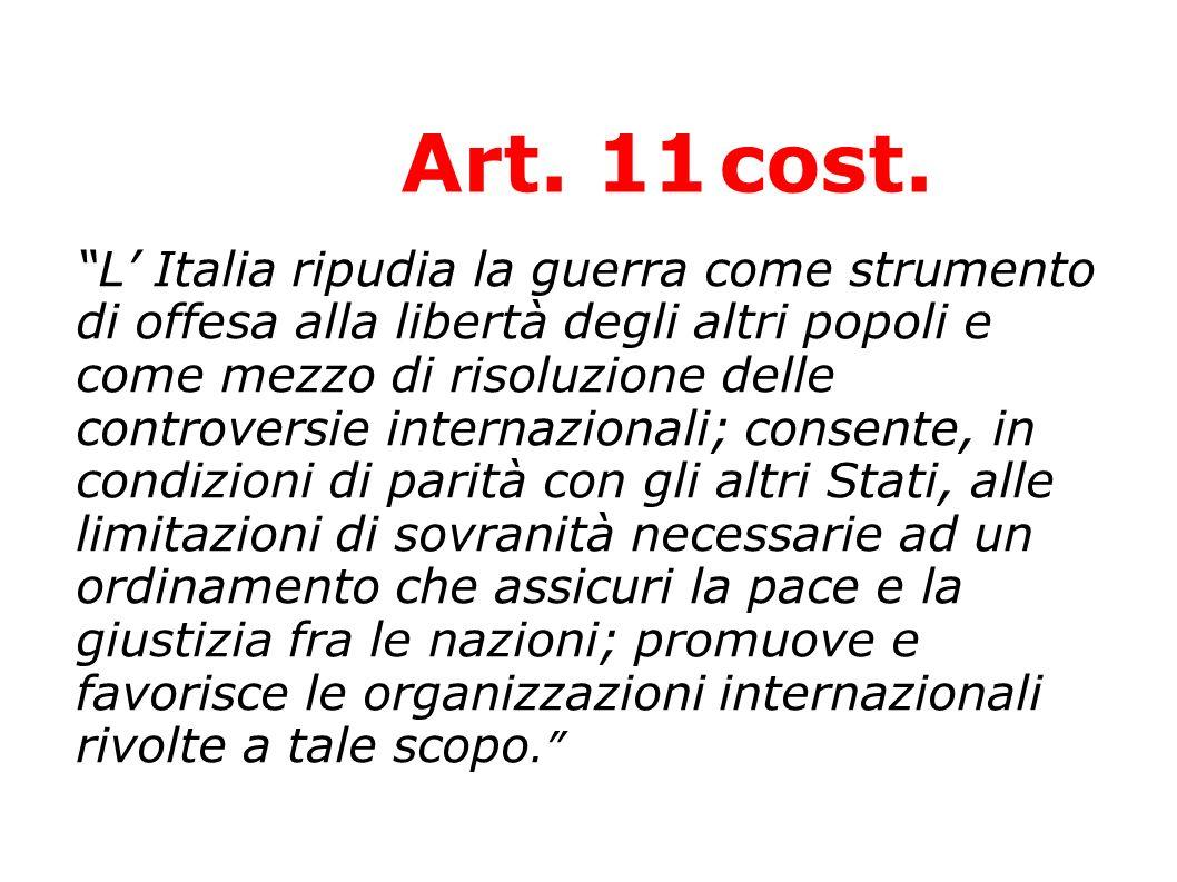 Art. 11 cost.