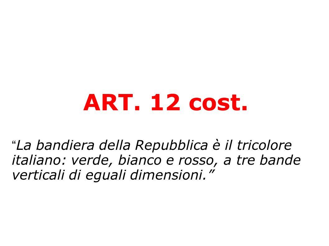 ART. 12 cost.