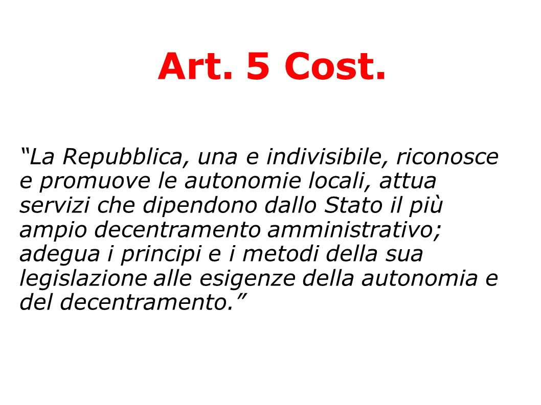 Art. 5 Cost.