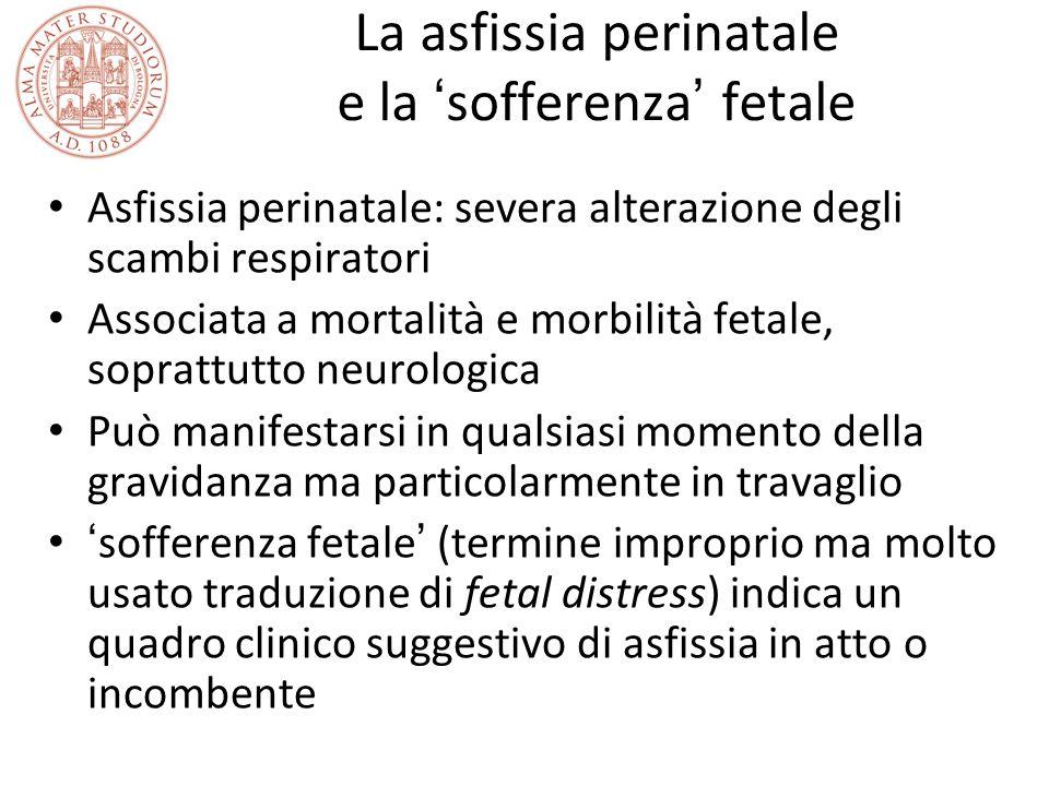 La asfissia perinatale e la 'sofferenza' fetale