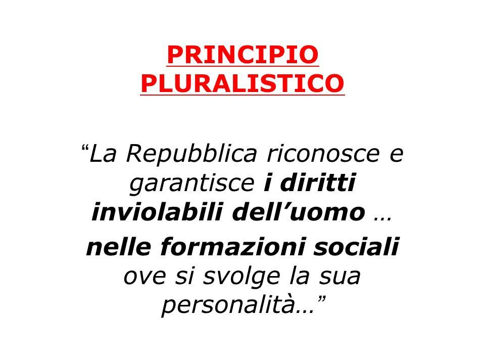 PRINCIPIO PLURALISTICO