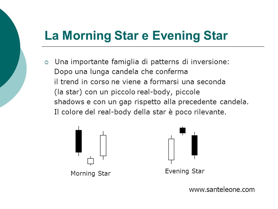 La Morning Star e Evening Star