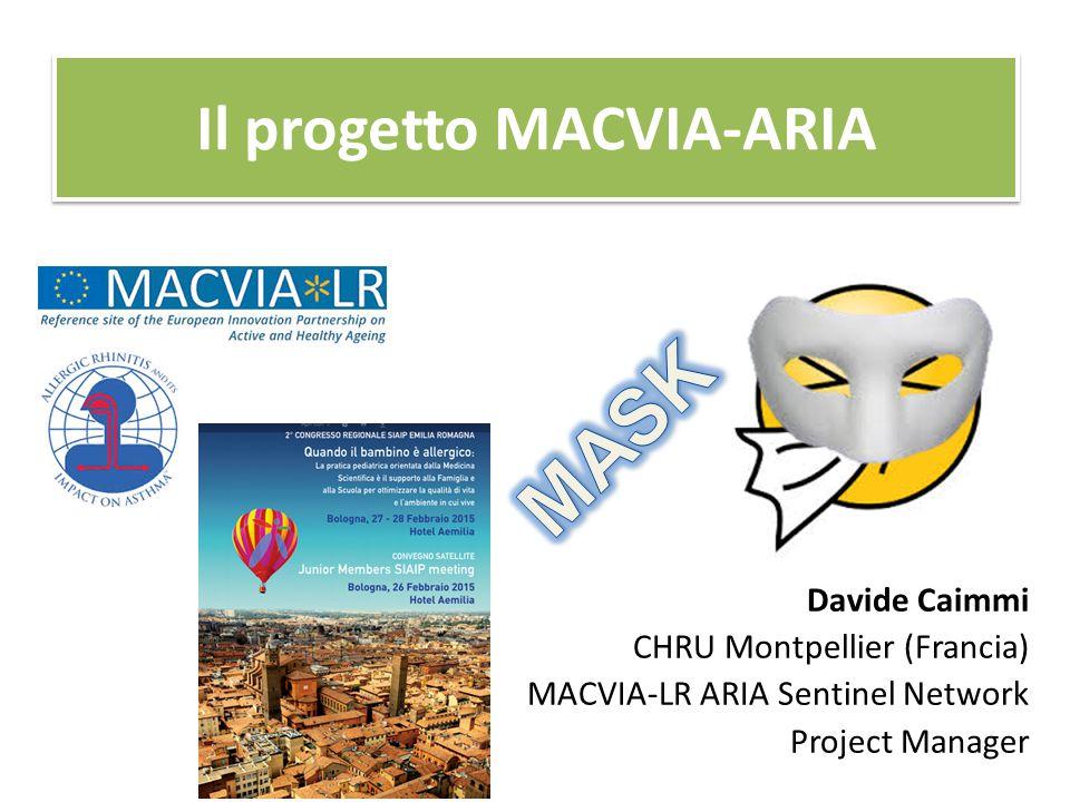 Il progetto MACVIA-ARIA