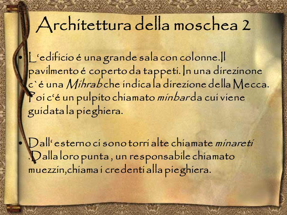 Architettura della moschea 2