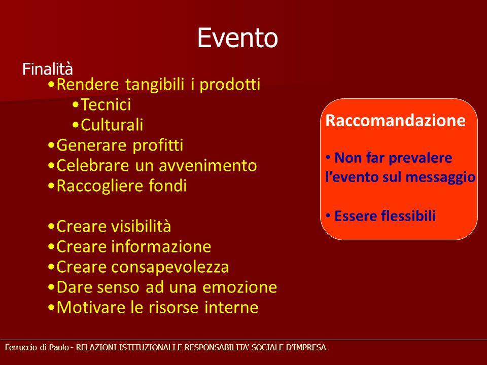 Evento Rendere tangibili i prodotti Tecnici Culturali