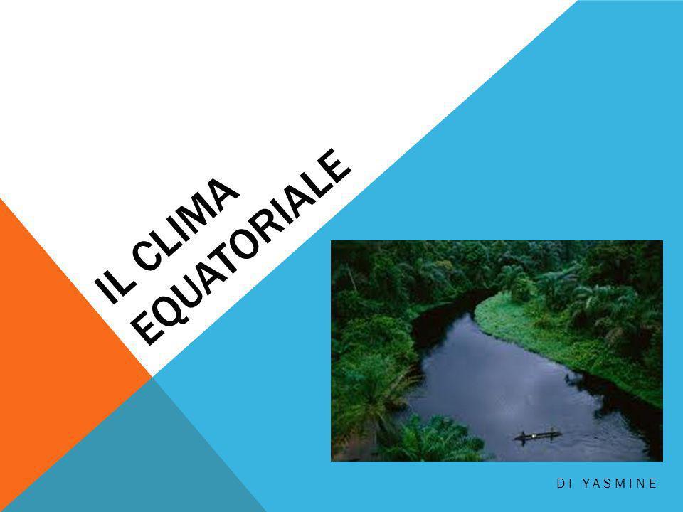 Il clima equatoriale di yasmine