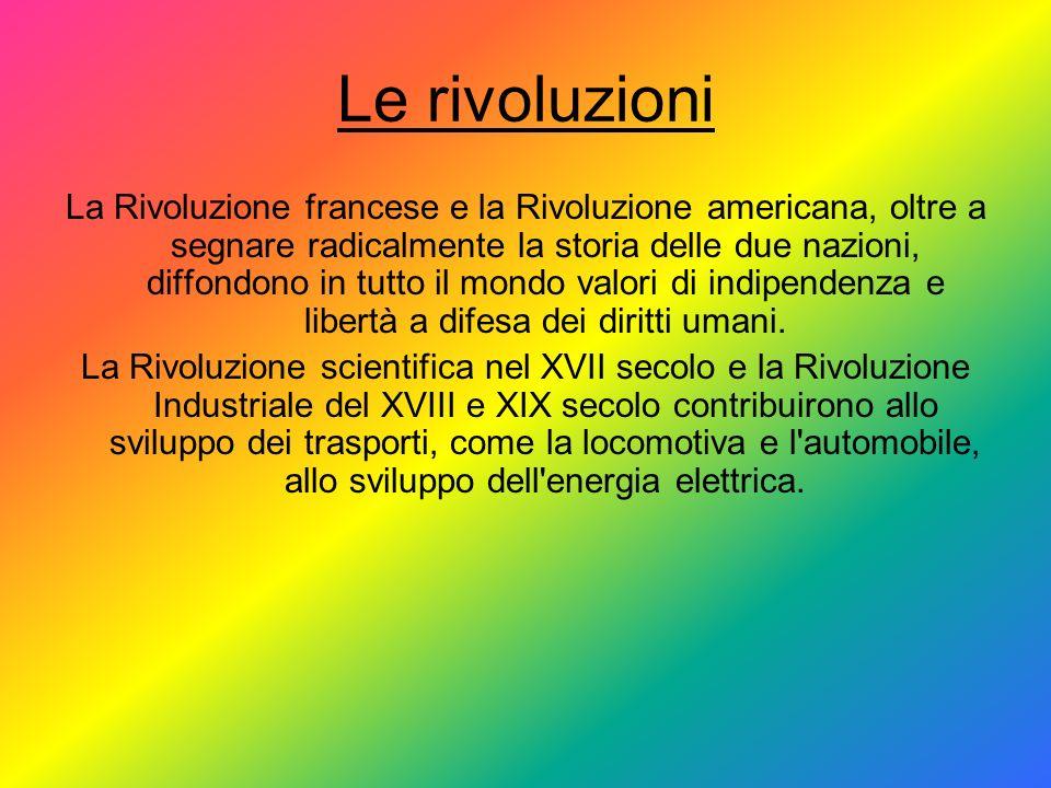 Le rivoluzioni