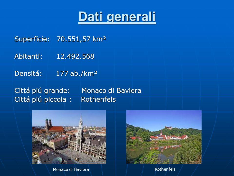 Dati generali Superficie: 70.551,57 km² Abitanti: 12.492.568