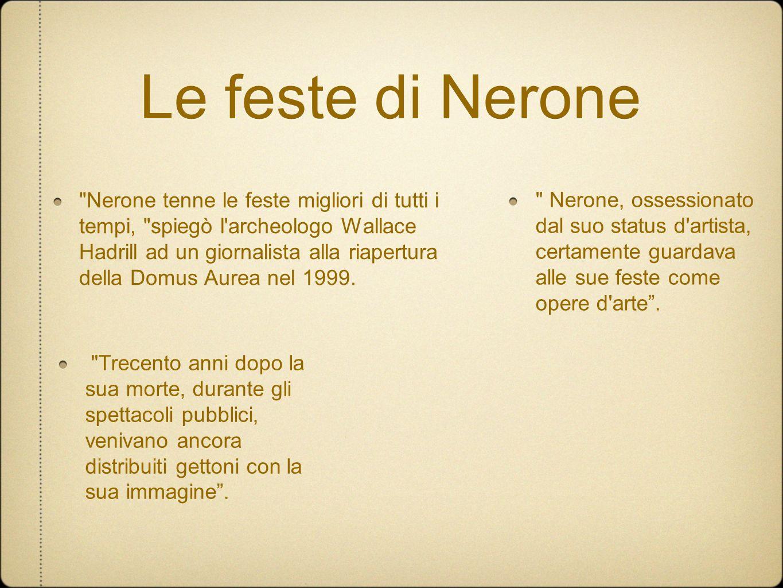 Le feste di Nerone