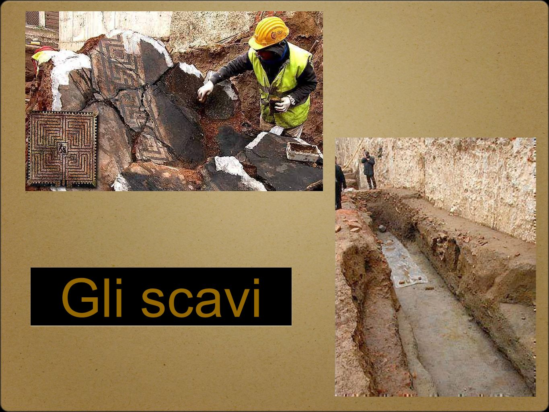 Gli scavi