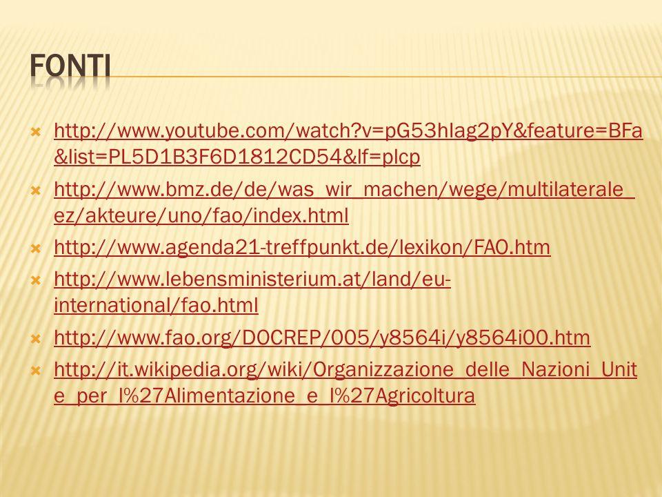 fonti http://www.youtube.com/watch v=pG53hIag2pY&feature=BFa&list=PL5D1B3F6D1812CD54&lf=plcp.