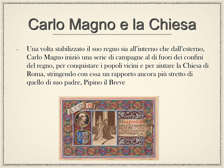 Carlo Magno e la Chiesa