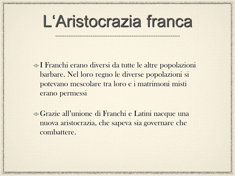 L'Aristocrazia franca