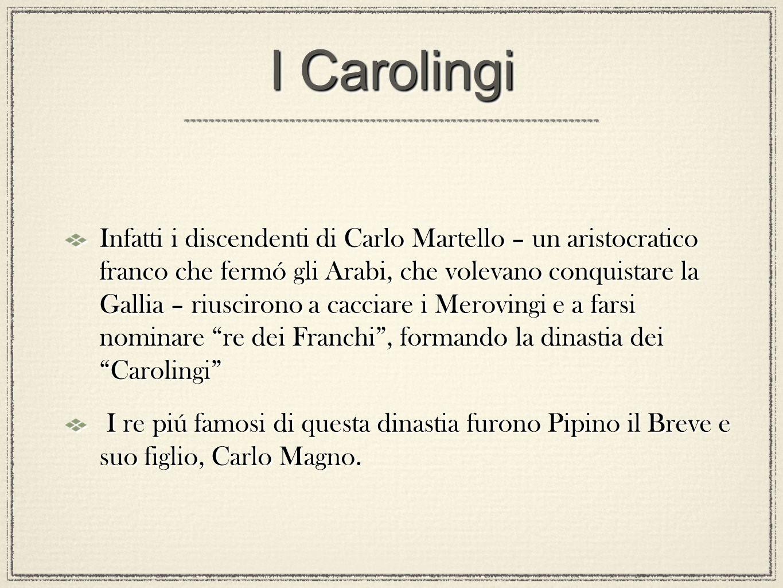 I Carolingi