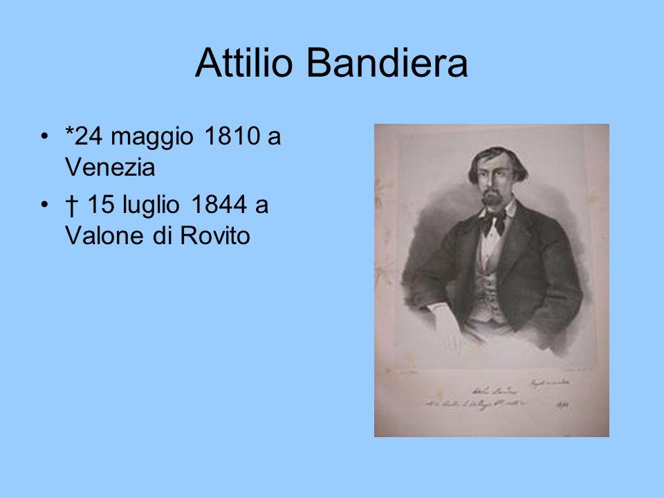 Attilio Bandiera *24 maggio 1810 a Venezia