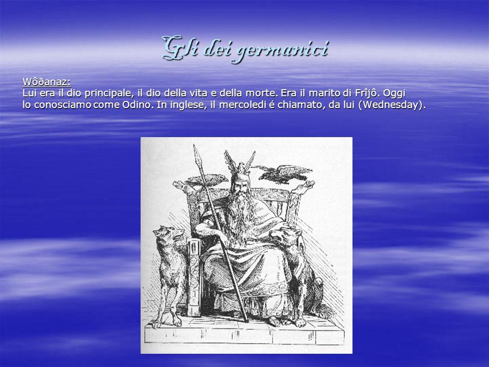 Gli dei germanici Wôðanaz: