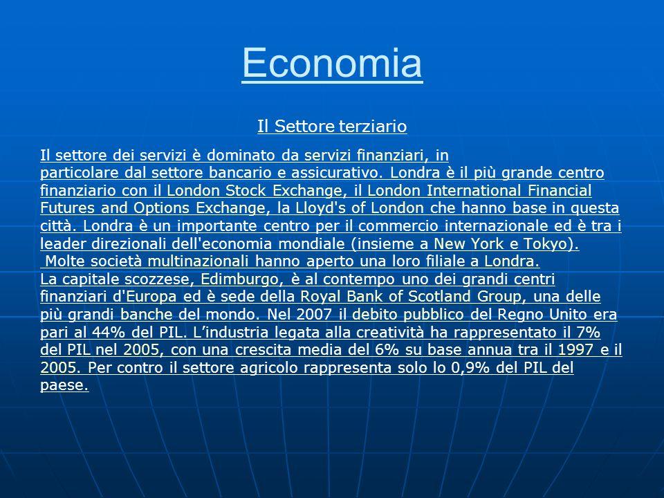 Economia Il Settore terziario