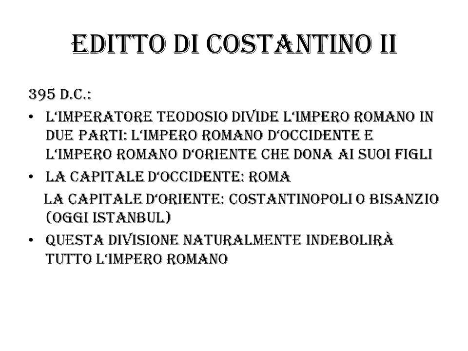 Editto di costantino II