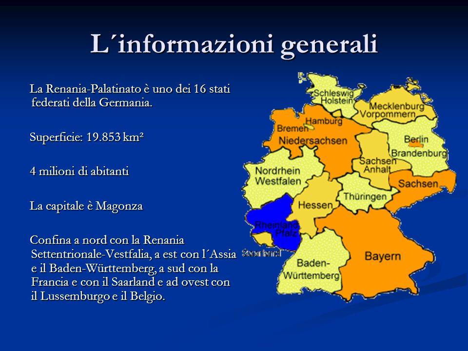 L´informazioni generali