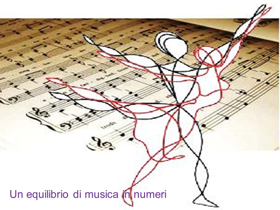 Un equilibrio di musica in numeri