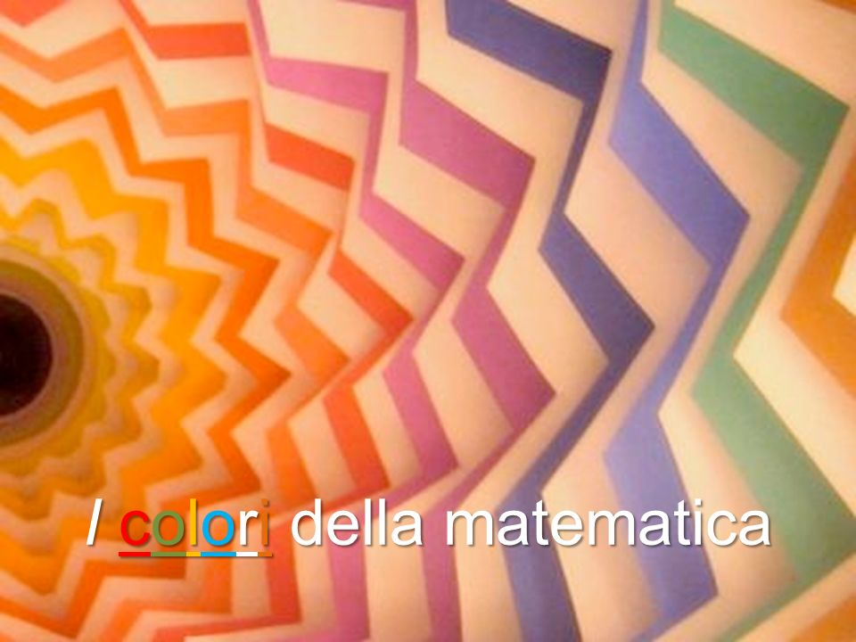 I colori della matematica