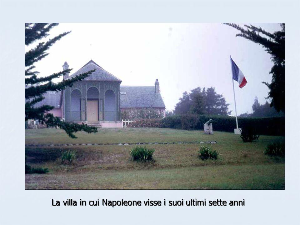 La villa in cui Napoleone visse i suoi ultimi sette anni