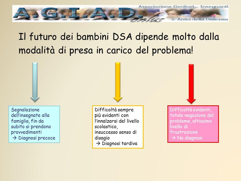 Il futuro dei bambini DSA dipende molto dalla