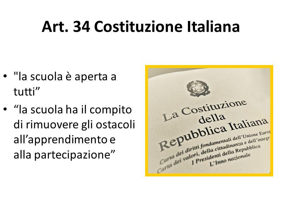 Art. 34 Costituzione Italiana