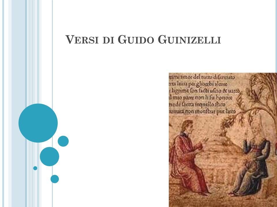 Versi di Guido Guinizelli
