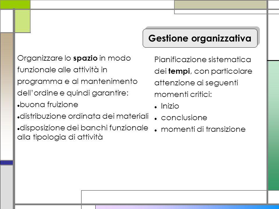 Gestione organizzativa