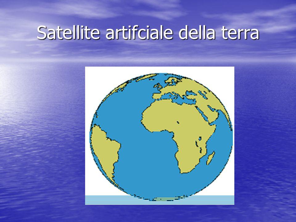 Satellite artifciale della terra