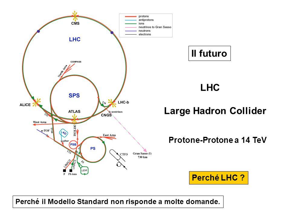 Il futuro Large Hadron Collider Protone-Protone a 14 TeV Perché LHC