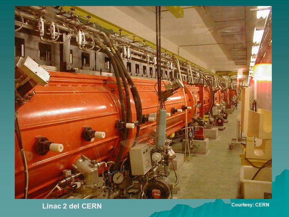 Linac 2 del CERN Courtesy: CERN