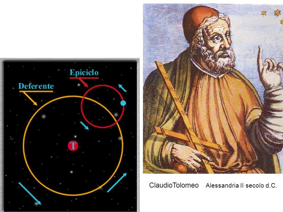 ClaudioTolomeo Alessandria II secolo d.C.