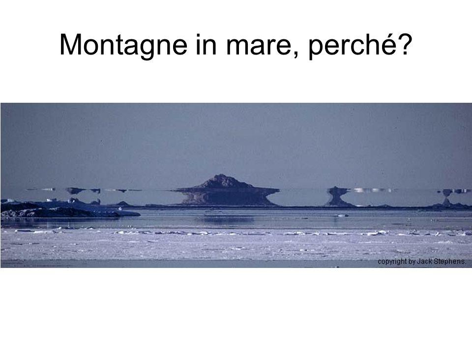 Montagne in mare, perché