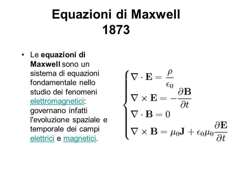 Equazioni di Maxwell 1873