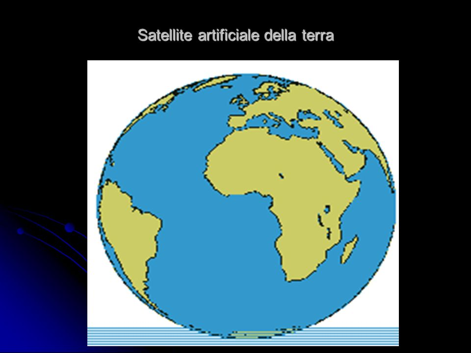 Satellite artificiale della terra