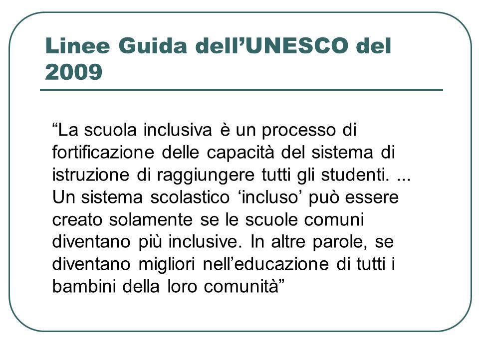 Linee Guida dell'UNESCO del 2009